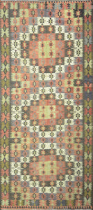 Old Turkish Kilim Rug - K KL-13