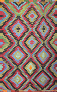 Old Turkish Kilim Rug - K KL-38