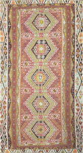 Old Turkish Kilim Rug - K KL-39