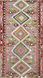 Old Turkish Kilim Rug - K KL-40