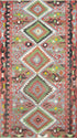 "Old Turkish Kilim Rug - K > Design # 1596 > 5'-7"" X 10'-1"""