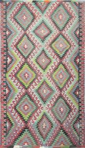 Old Turkish Kilim Rug - K KL-42