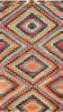 "Old Turkish Kilim Rug - K > Design # 1599 > 5'-3"" X 9'-5"""