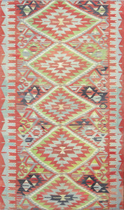 Old Turkish Kilim Rug - K KL-48