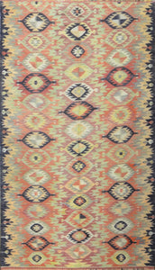 Old Turkish Kilim Rug - K KL-28