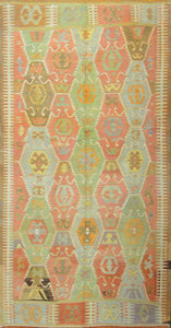 Old Turkish Kilim Rug - K KL-30