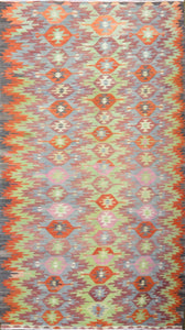 Old Turkish Kilim Rug - K KL-32