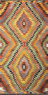 "Old Turkish Kilim Rug - K > Design # 1590 > 5'-3"" X 10'-6"""