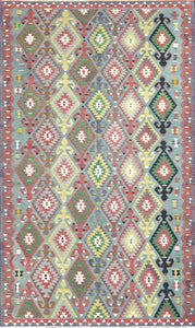 Old Turkish Kilim Rug - K KL-63