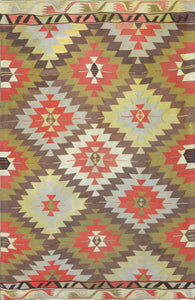 Old Turkish Kilim Rug - K KL-71