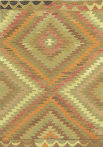 Old Turkish Kilim Rug - K KL-86