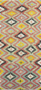 Old Turkish Kilim Rug - K KL-54