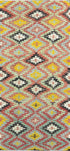 "Old Turkish Kilim Rug - K > Design # 1608 > 4'-3"" X 9'-6"""