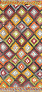 Old Turkish Kilim Rug - K KL-56