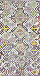 Old Turkish Kilim Rug - K KL-59