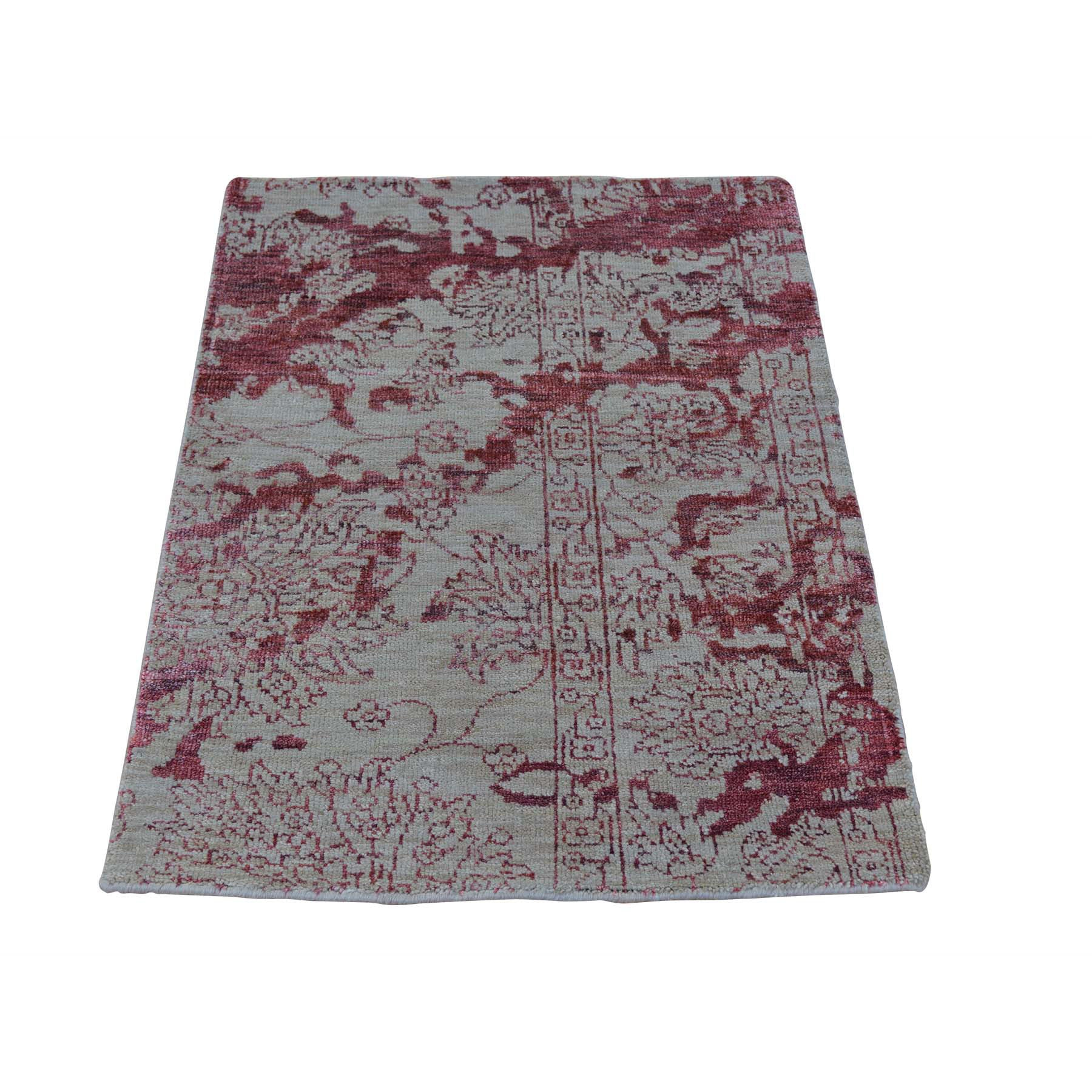 "Handmade Transitional Rectangle Rug > Design# SH23174 > Size: 2'-0"" x 3'-0"" [ONLINE ONLY]"