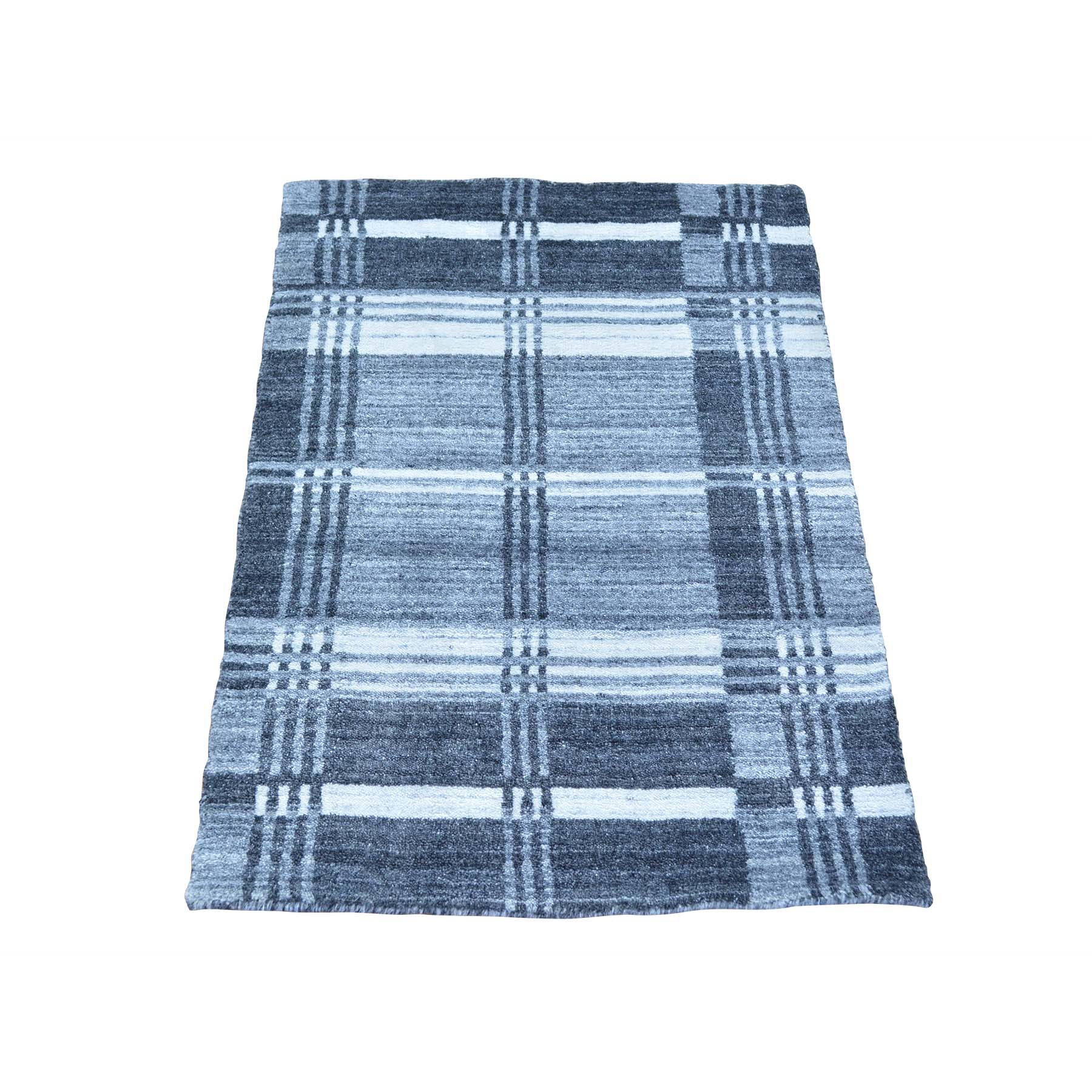 "Handmade Modern and Contemporary Rectangle Rug > Design# SH23235 > Size: 2'-0"" x 3'-0"" [ONLINE ONLY]"