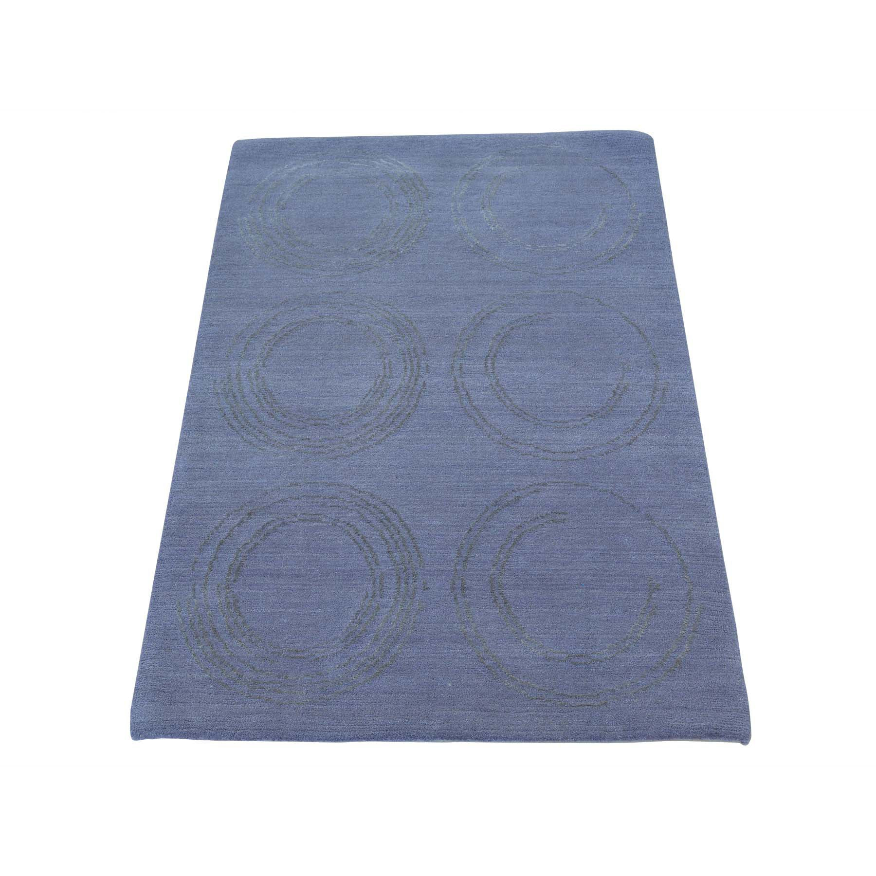 "Handmade Modern and Contemporary Rectangle Rug > Design# SH24030 > Size: 2'-0"" x 3'-0"" [ONLINE ONLY]"
