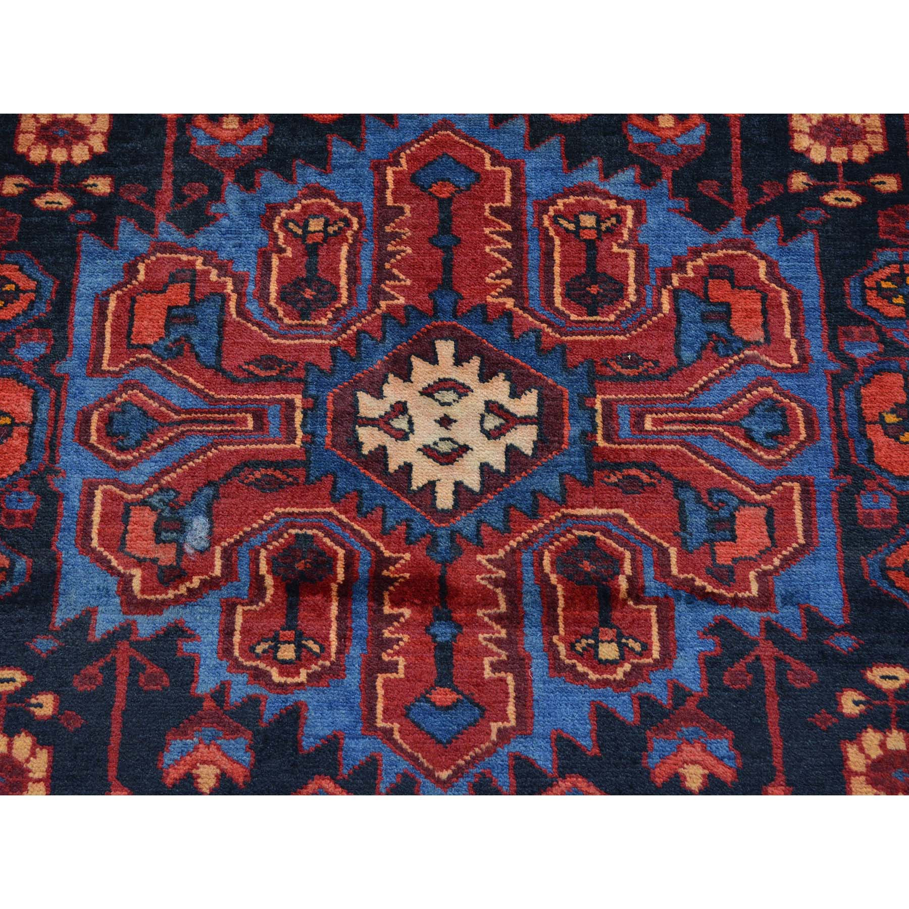 "Handmade Persian Rectangle Rug > Design# SH24521 > Size: 5'-0"" x 8'-6"" [ONLINE ONLY]"