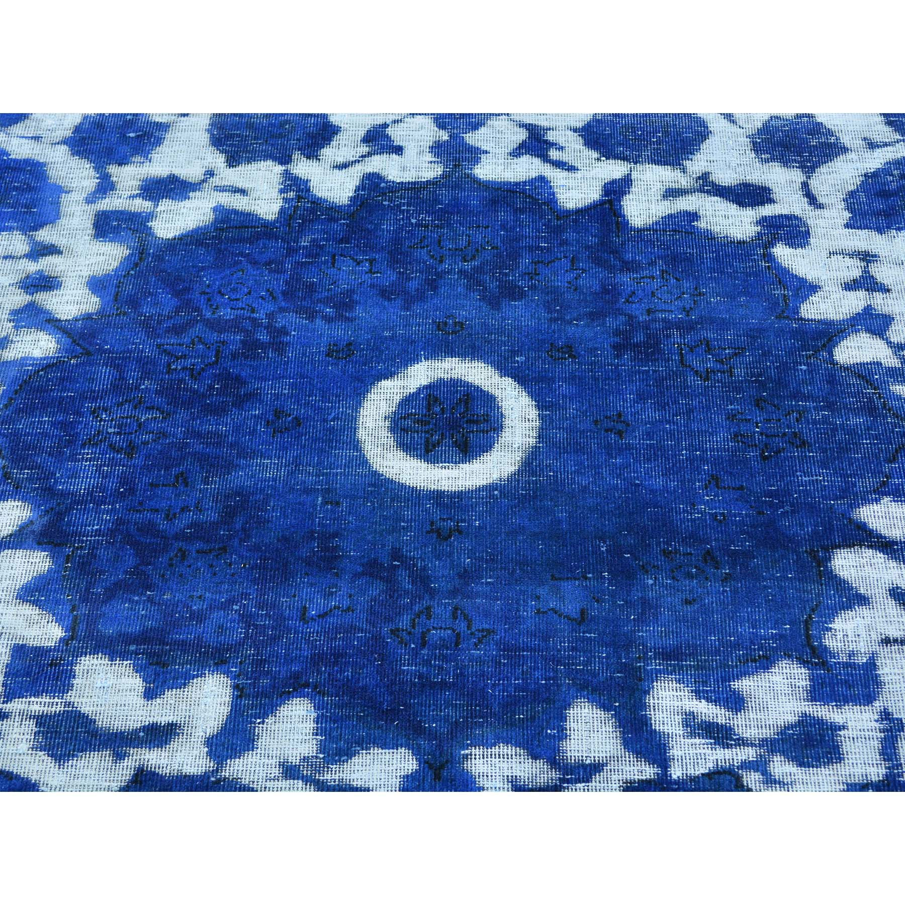 "Handmade Overdyed & Vintage Rectangle Rug > Design# SH25023 > Size: 7'-6"" x 9'-6"" [ONLINE ONLY]"
