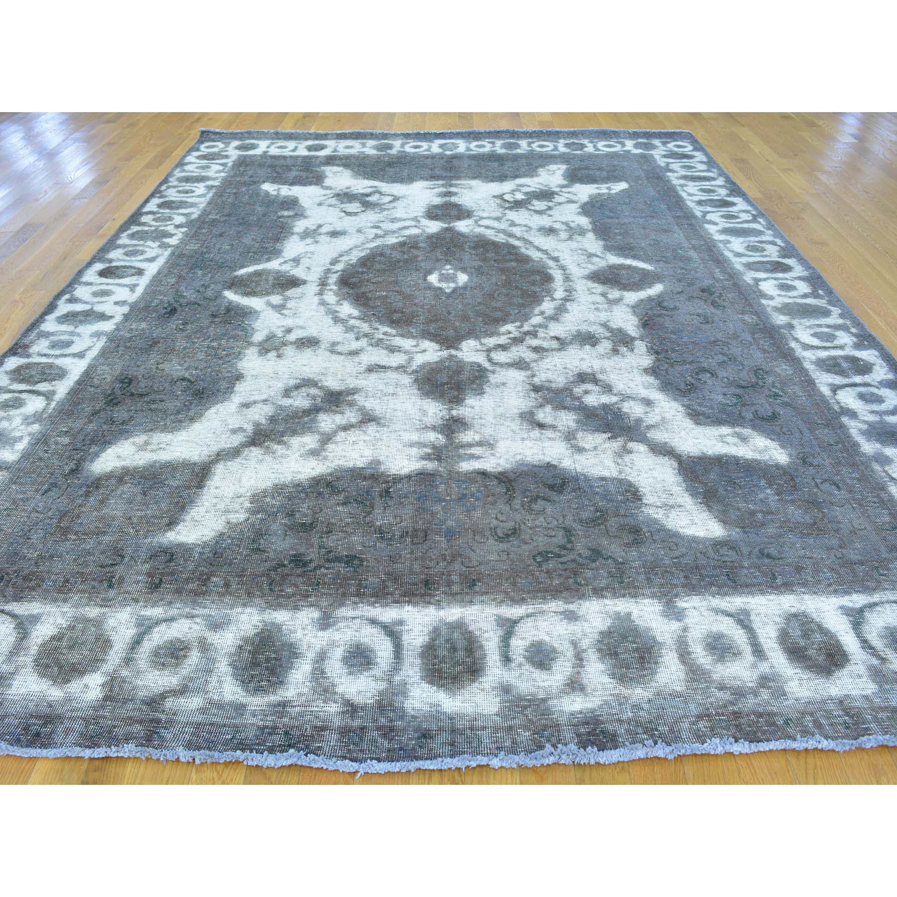 "Handmade Overdyed & Vintage Rectangle Rug > Design# SH25127 > Size: 8'-0"" x 11'-0"" [ONLINE ONLY]"