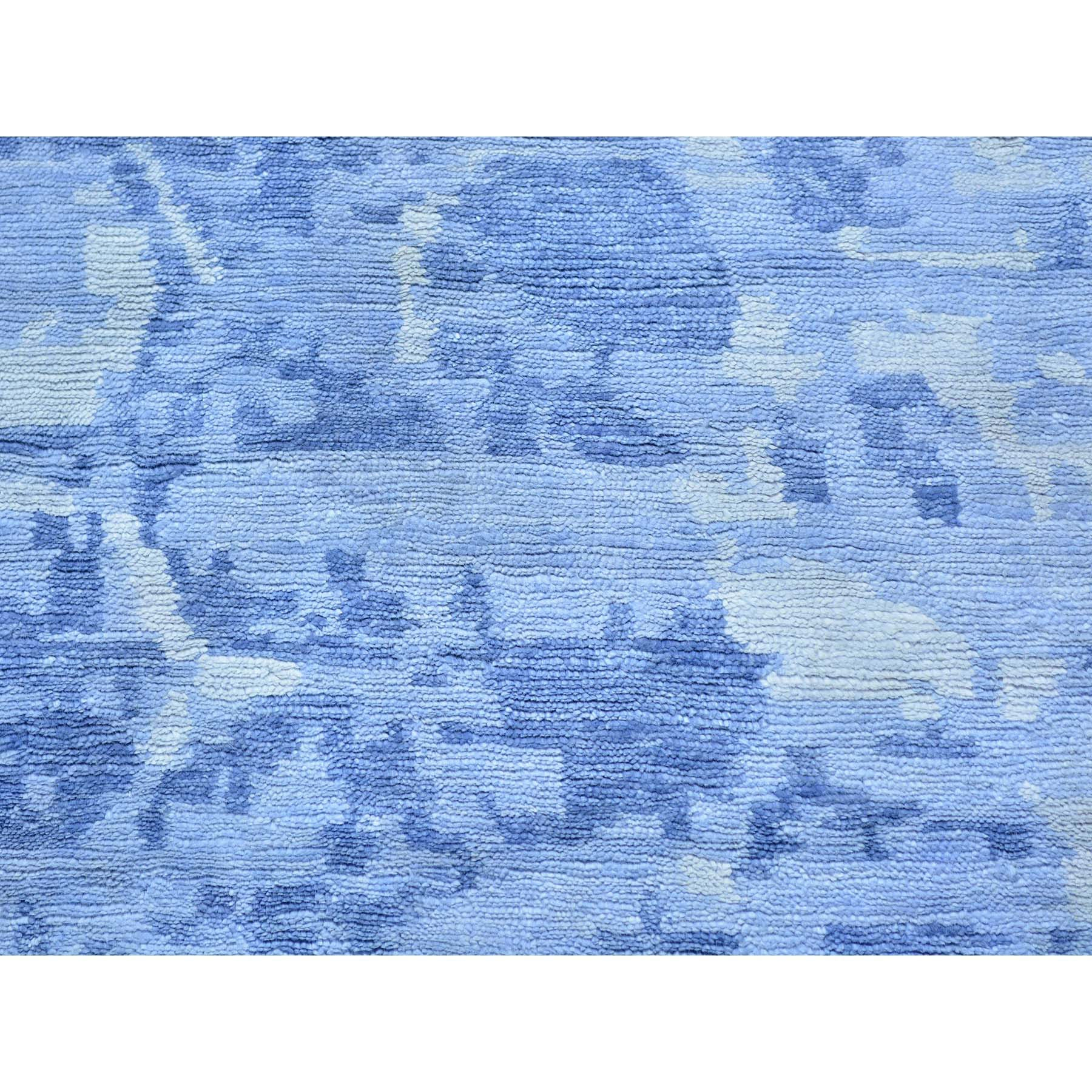 "Handmade Modern and Contemporary Rectangle Rug > Design# SH25338 > Size: 2'-0"" x 3'-0"" [ONLINE ONLY]"