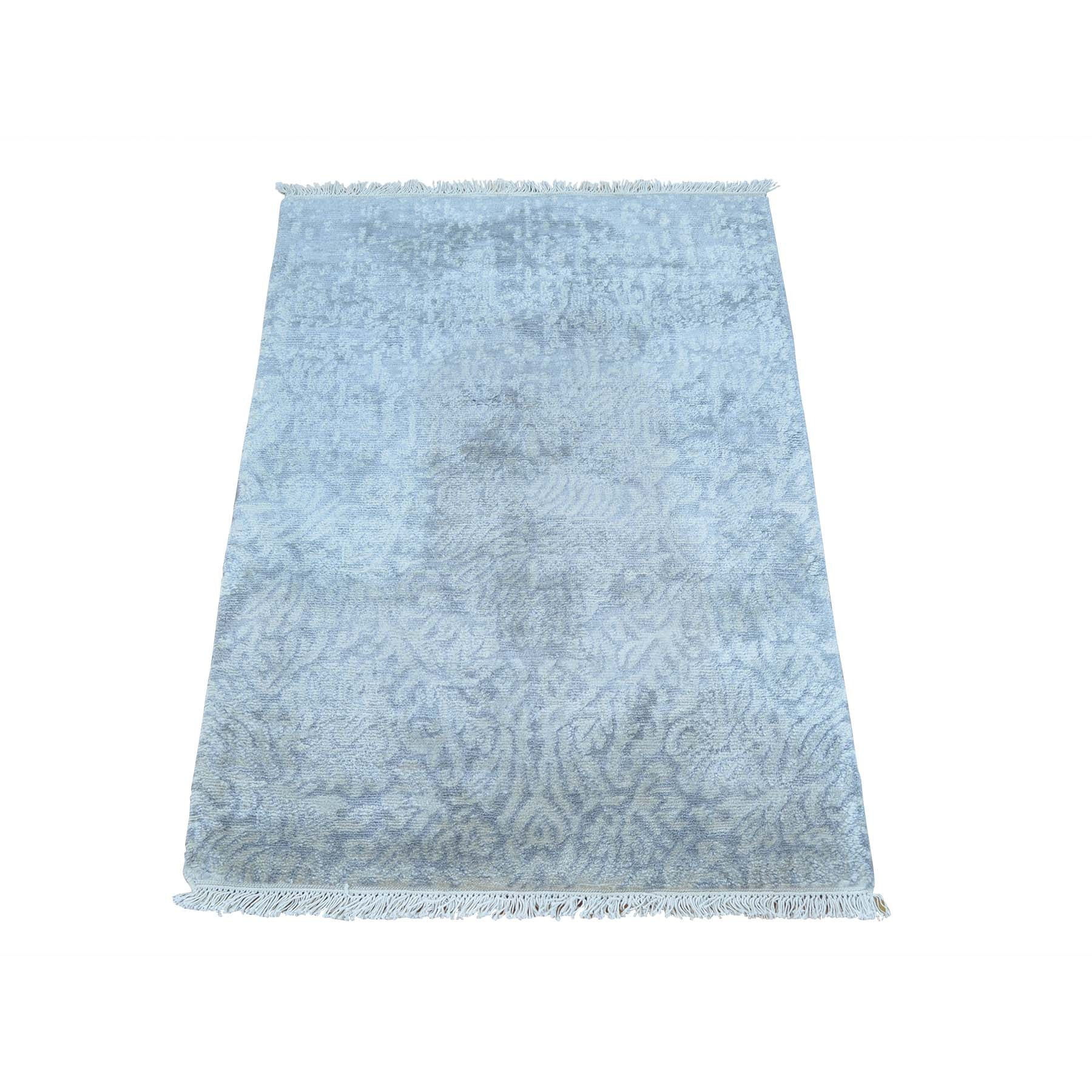 "Handmade Modern and Contemporary Rectangle Rug > Design# SH25723 > Size: 2'-0"" x 3'-0"" [ONLINE ONLY]"