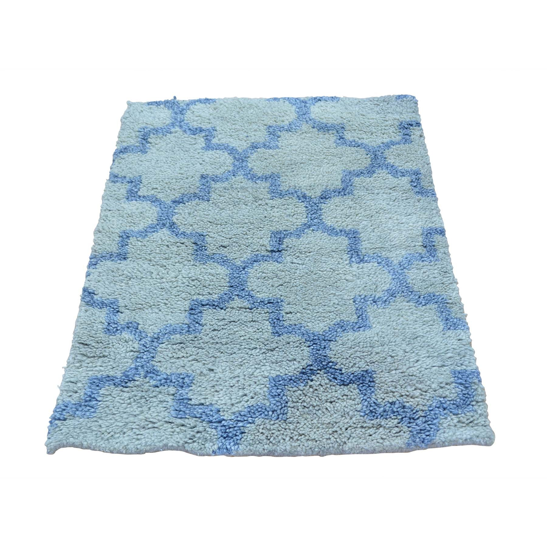 "Handmade Modern and Contemporary Rectangle Rug > Design# SH25921 > Size: 2'-1"" x 3'-0"" [ONLINE ONLY]"