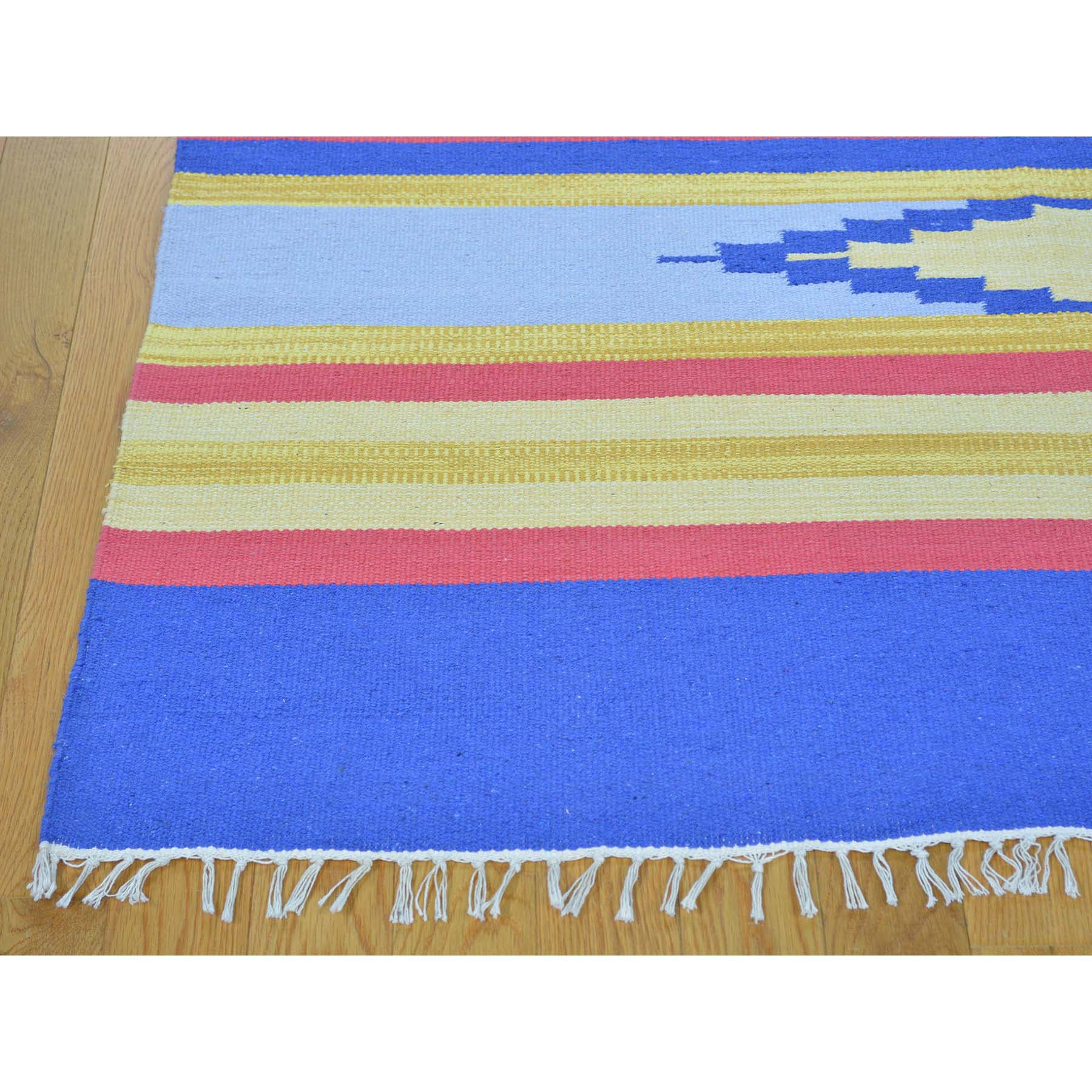 "Handmade Flat Weave Rectangle Rug > Design# SH26080 > Size: 8'-10"" x 12'-0"" [ONLINE ONLY]"