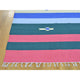 "Handmade Flat Weave Rectangle Rug > Design# SH26090 > Size: 8'-0"" x 10'-3"" [ONLINE ONLY]"