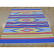 "Handmade Flat Weave Rectangle Rug > Design# SH26112 > Size: 4'-0"" x 6'-0"" [ONLINE ONLY]"