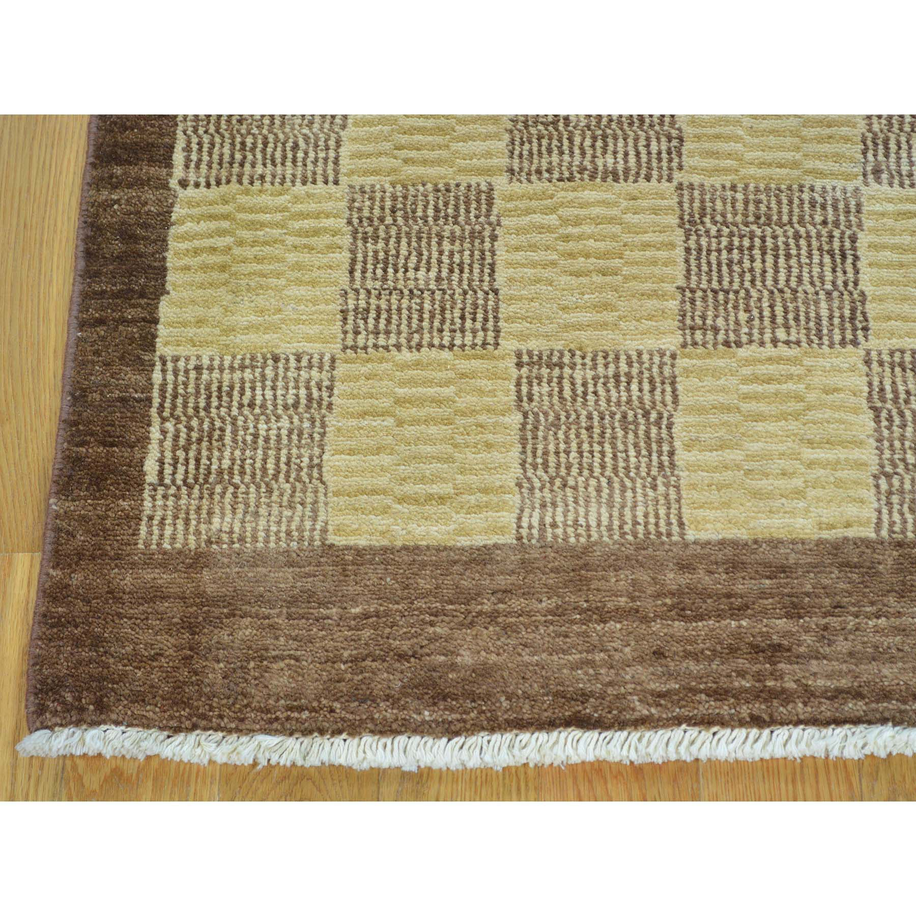 "Handmade Modern and Contemporary Rectangle Rug > Design# SH26645 > Size: 3'-2"" x 5'-4"" [ONLINE ONLY]"