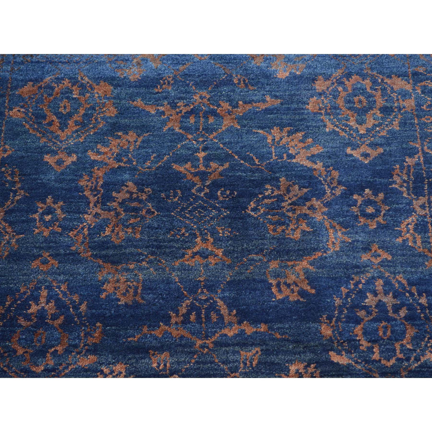 "Handmade Modern and Contemporary Runner Rug > Design# SH27247 > Size: 2'-6"" x 9'-10"" [ONLINE ONLY]"