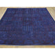 "Handmade Overdyed & Vintage Rectangle Rug > Design# SH28326 > Size: 5'-5"" x 7'-5"" [ONLINE ONLY]"