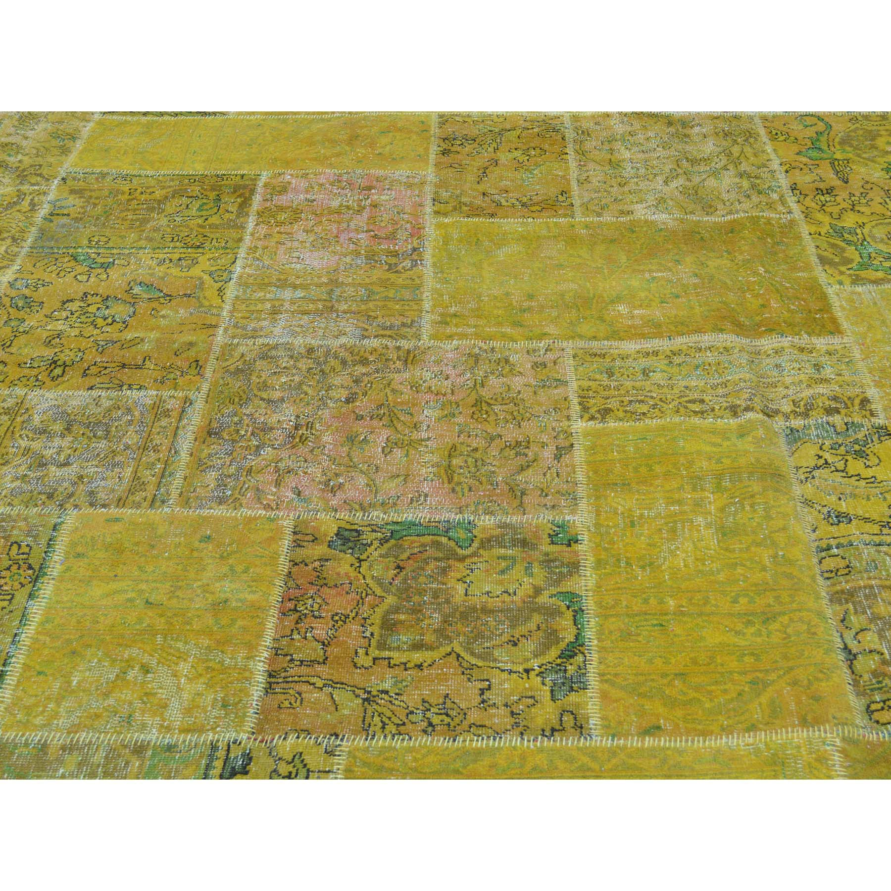 "Handmade Overdyed & Vintage Rectangle Rug > Design# SH28458 > Size: 13'-9"" x 17'-5"" [ONLINE ONLY]"