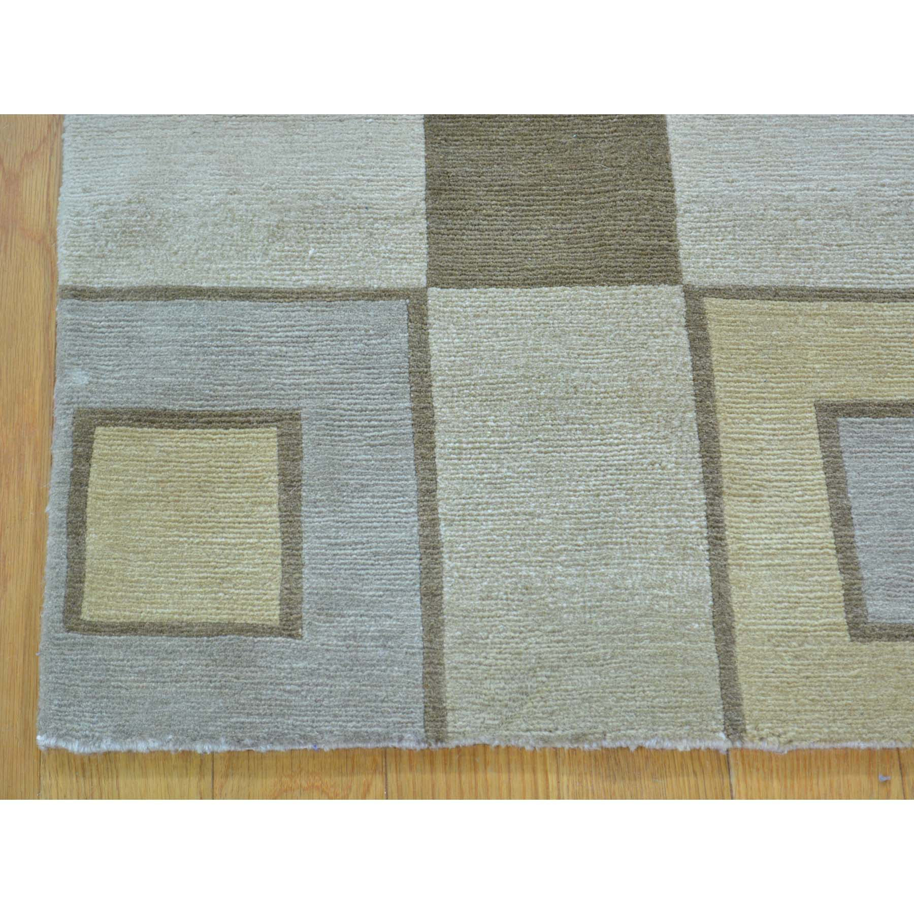 "Handmade Modern and Contemporary Rectangle Rug > Design# SH29228 > Size: 2'-0"" x 3'-0"" [ONLINE ONLY]"