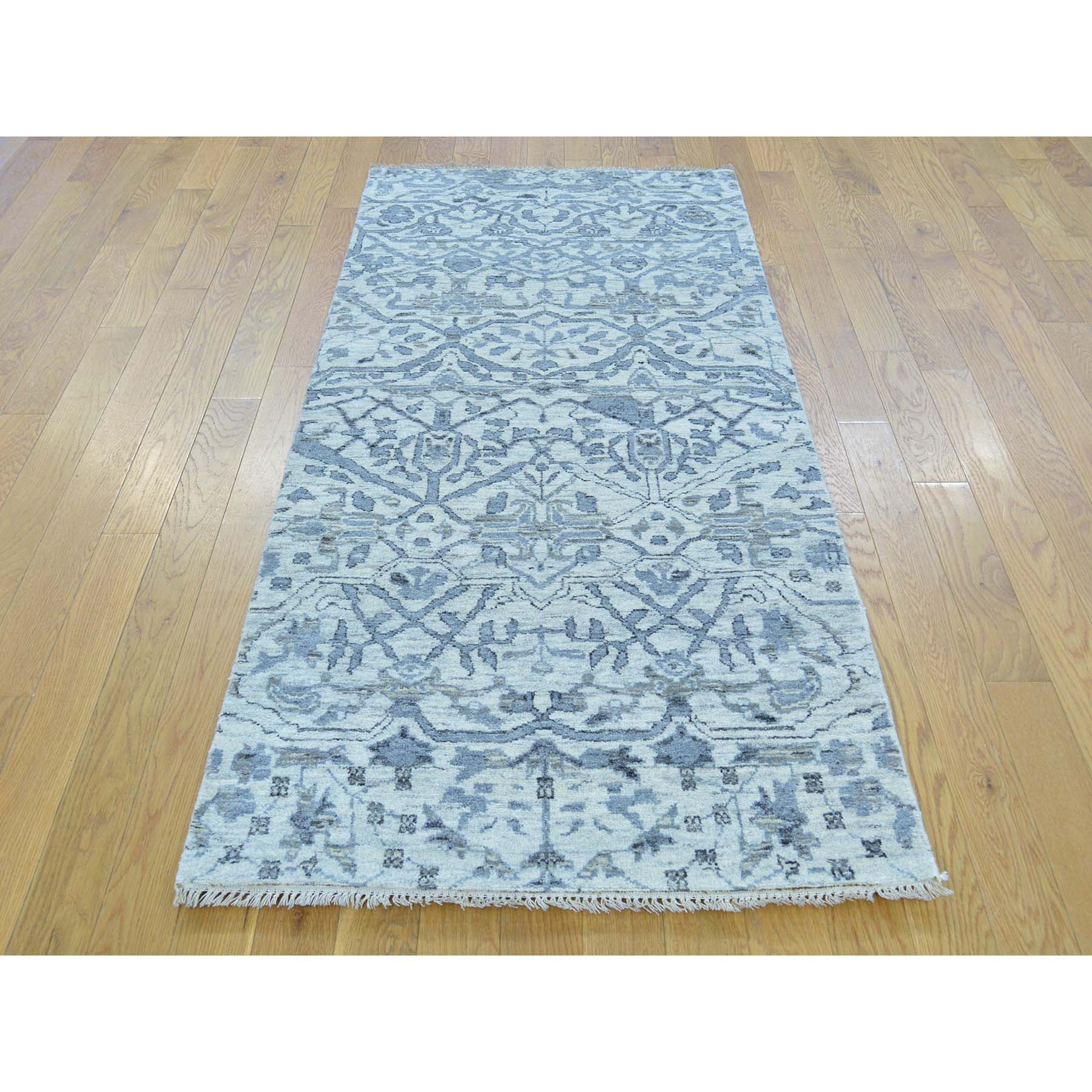 "Handmade Oushak And Peshawar Runner Rug > Design# SH29519 > Size: 2'-7"" x 6'-0"" [ONLINE ONLY]"