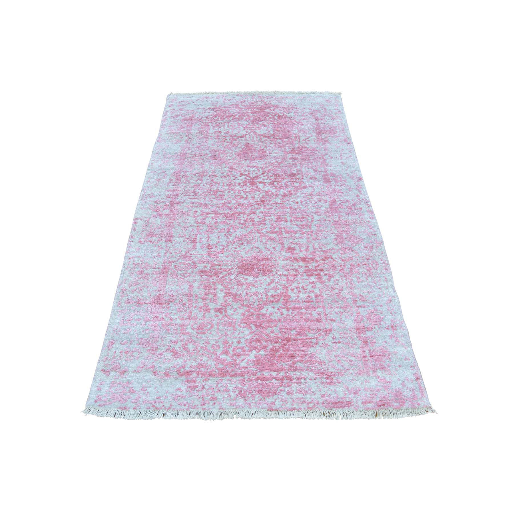 "Handmade Transitional Runner Rug > Design# SH29752 > Size: 2'-7"" x 5'-10"" [ONLINE ONLY]"