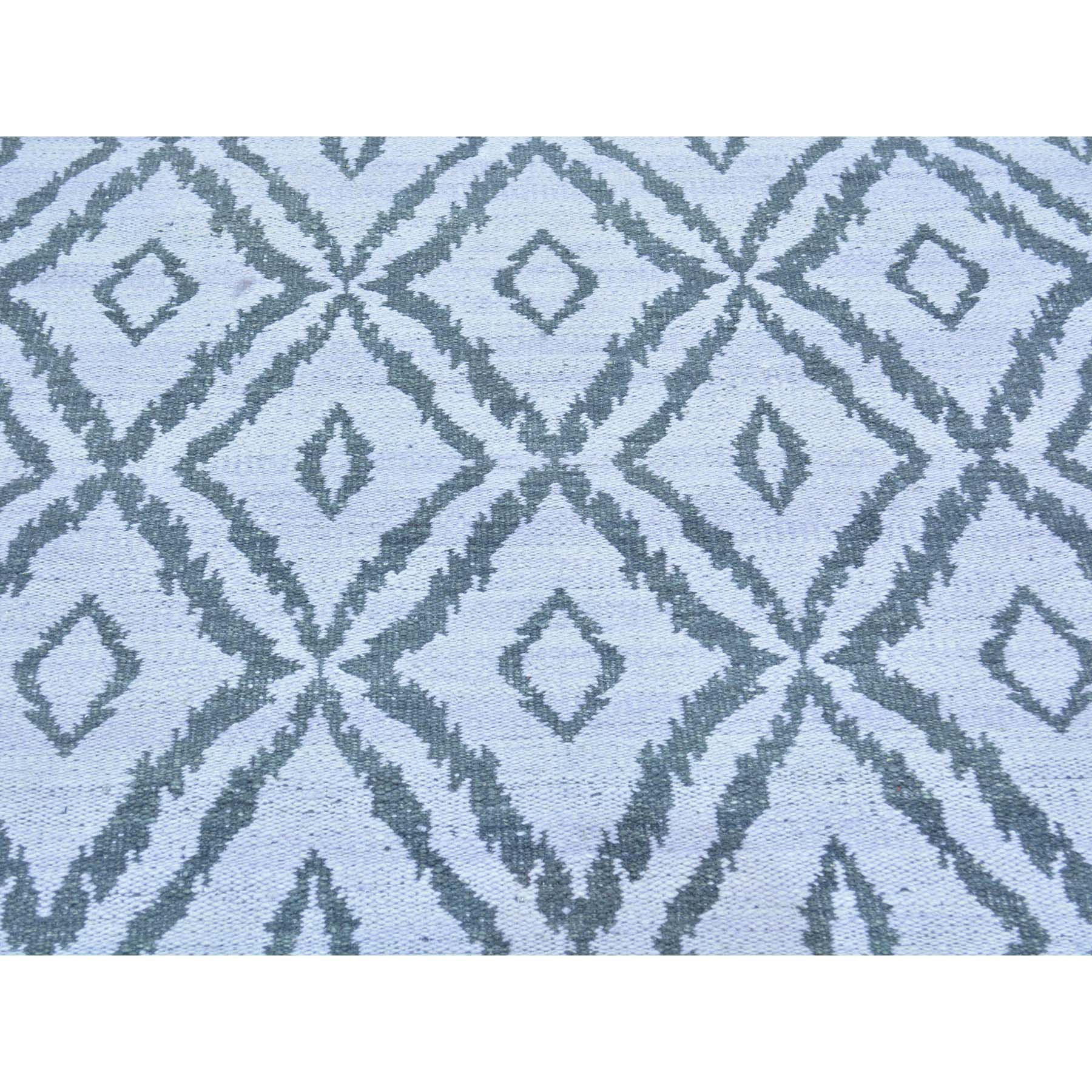 "Handmade Flat Weave Rectangle Rug > Design# SH29811 > Size: 5'-1"" x 7'-9"" [ONLINE ONLY]"