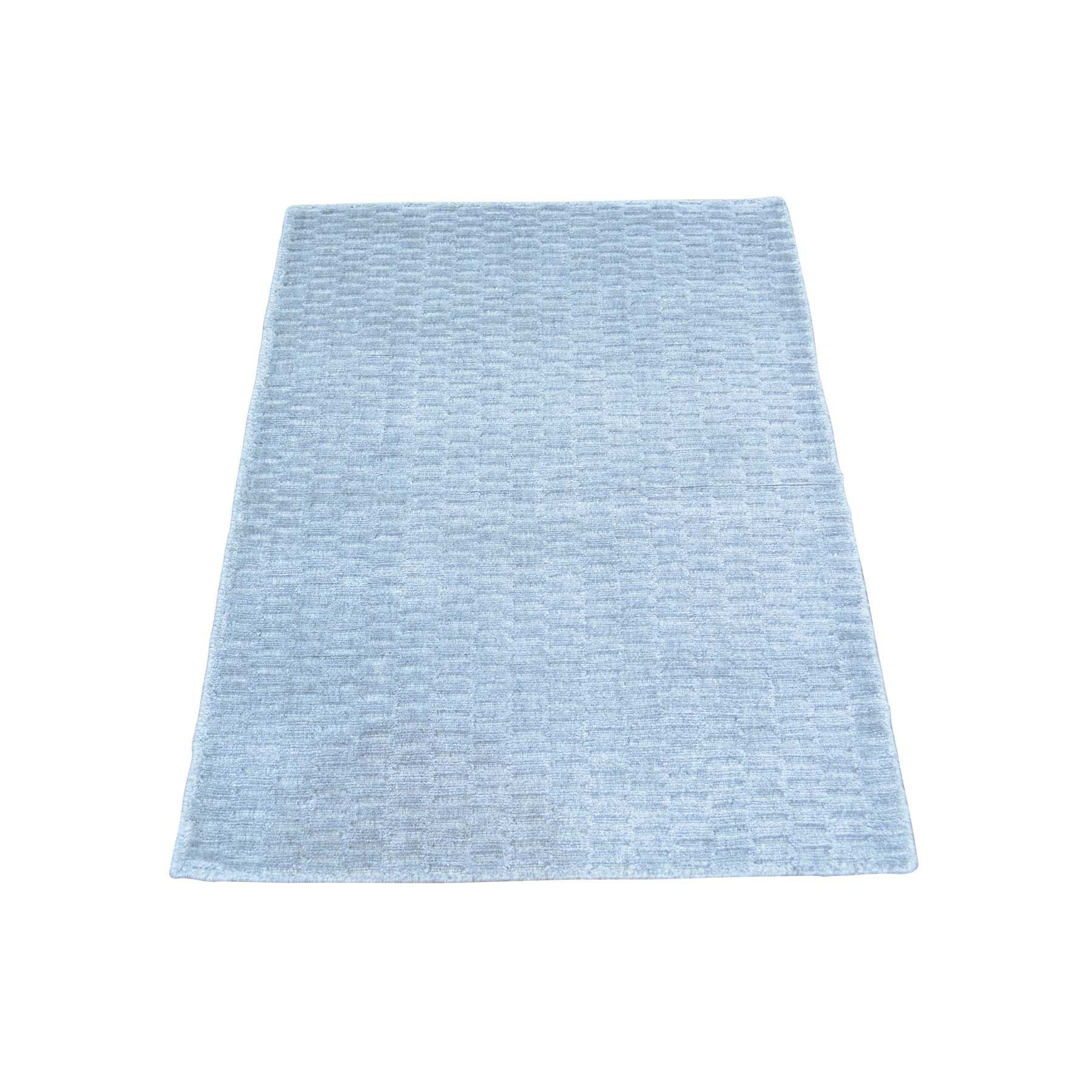 "Handmade Modern and Contemporary Rectangle Rug > Design# SH29955 > Size: 2'-0"" x 3'-0"" [ONLINE ONLY]"
