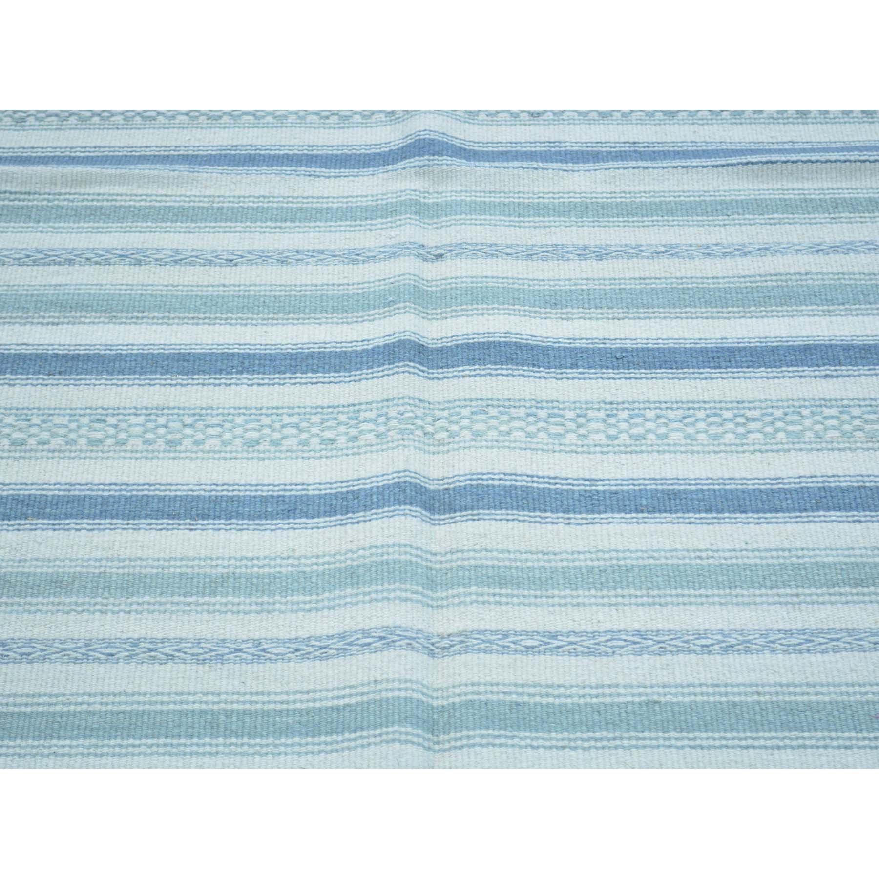 "Handmade Flat Weave Rectangle Rug > Design# SH30042 > Size: 3'-10"" x 5'-9"" [ONLINE ONLY]"