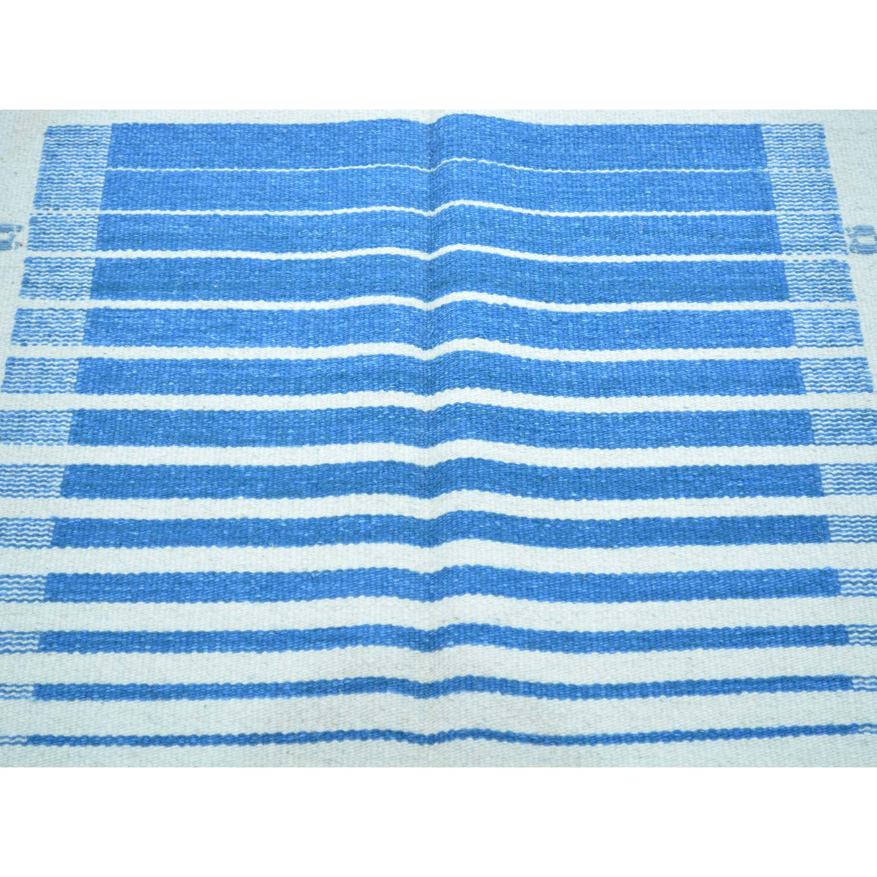 "Handmade Flat Weave Rectangle Rug > Design# SH30064 > Size: 5'-8"" x 8'-5"" [ONLINE ONLY]"