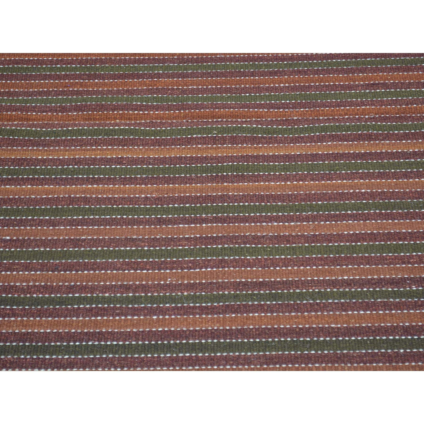"Handmade Flat Weave Rectangle Rug > Design# SH30113 > Size: 3'-0"" x 4'-10"" [ONLINE ONLY]"