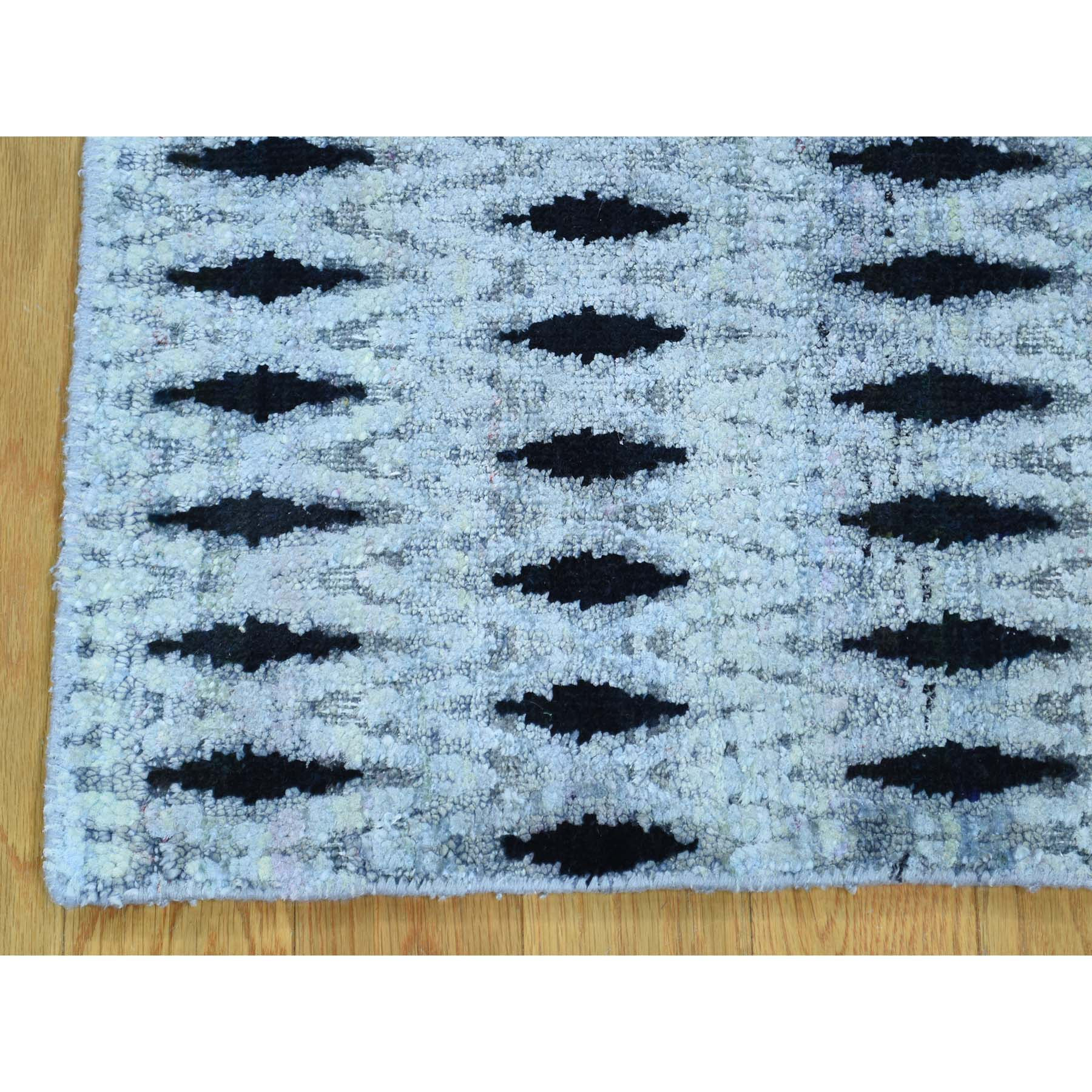 "Handmade Modern and Contemporary Square Rug > Design# SH30248 > Size: 2'-0"" x 2'-0"" [ONLINE ONLY]"