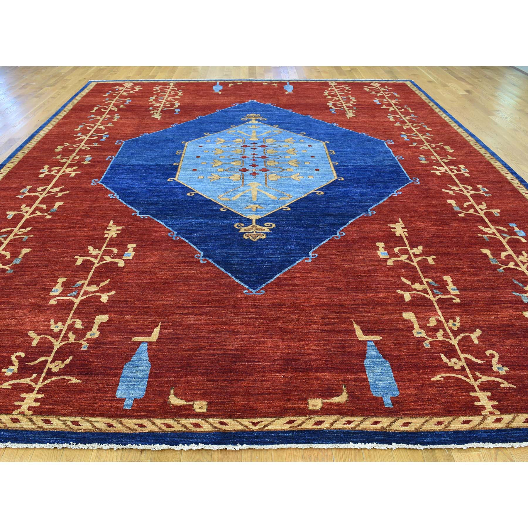 "Handmade Fine Oriental Rectangle Rug > Design# SH30345 > Size: 10'-3"" x 14'-0"" [ONLINE ONLY]"