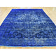 "Handmade Overdyed & Vintage Rectangle Rug > Design# SH30427 > Size: 6'-9"" x 10'-4"" [ONLINE ONLY]"