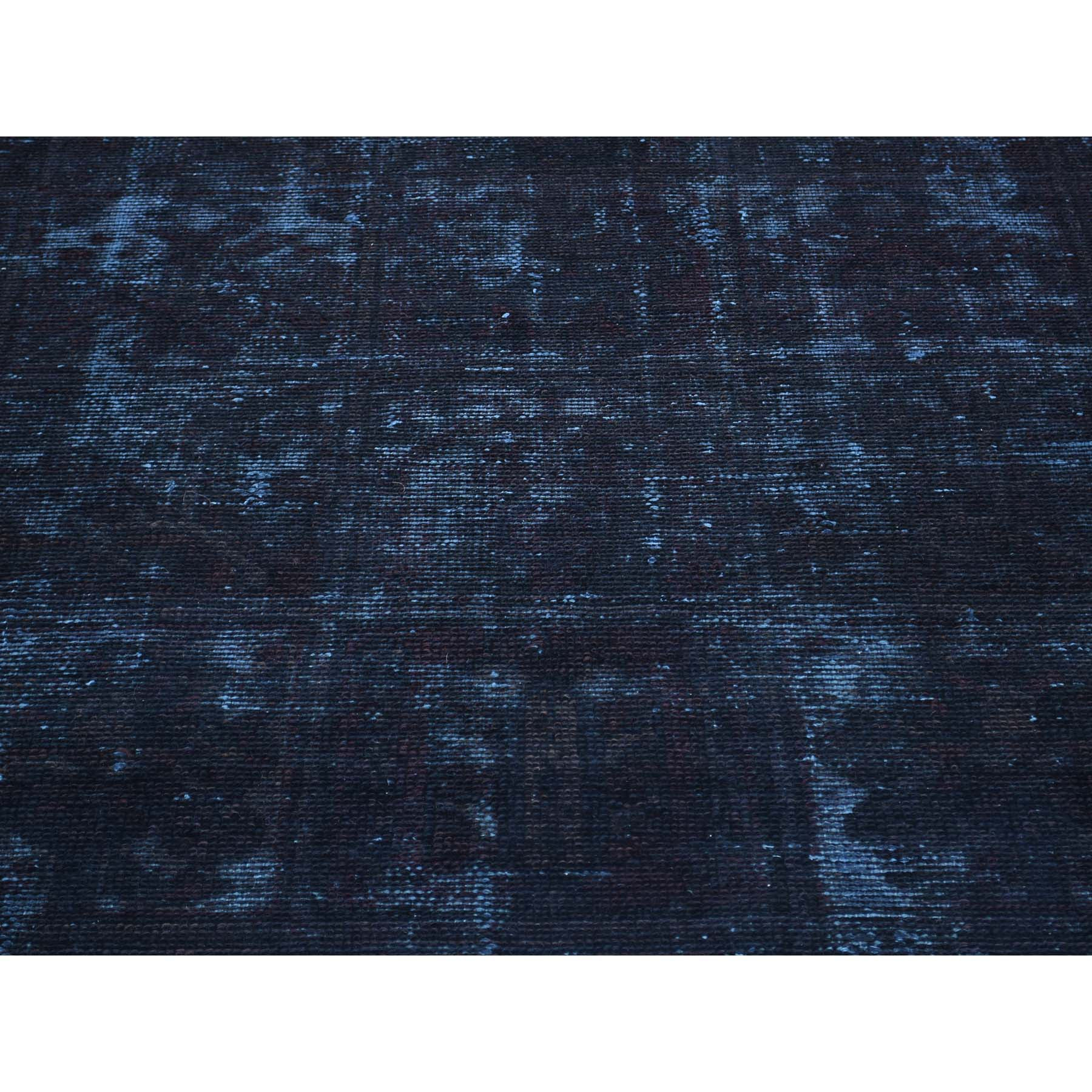 "Handmade Overdyed & Vintage Rectangle Rug > Design# SH30471 > Size: 6'-10"" x 9'-6"" [ONLINE ONLY]"