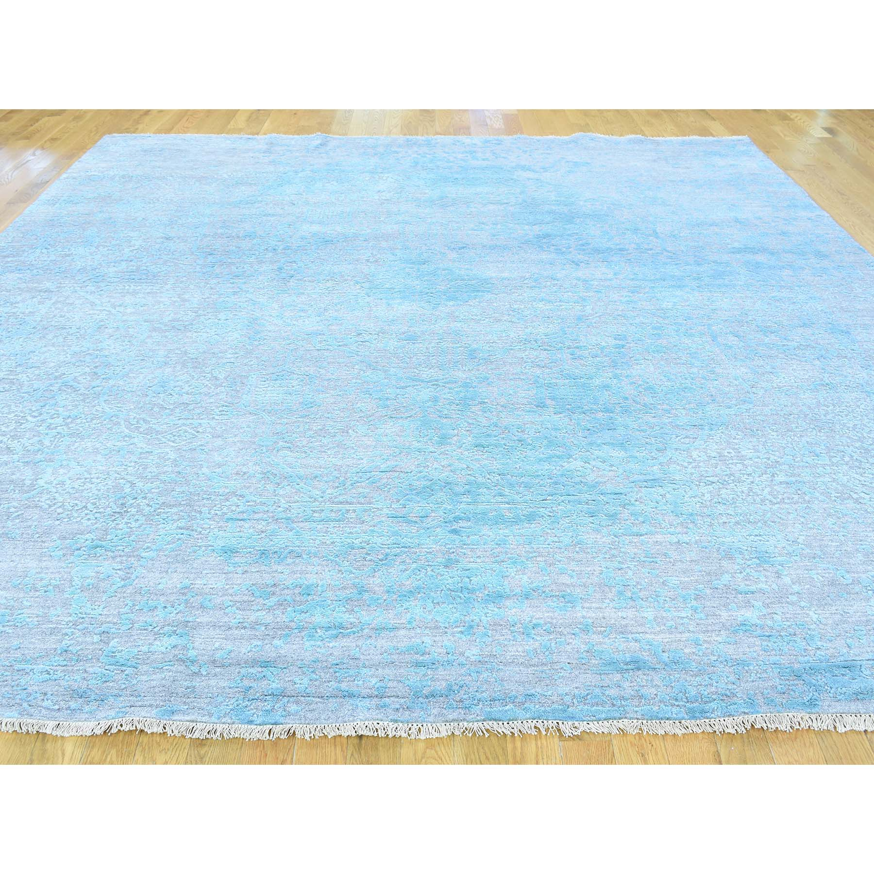 "Handmade Transitional Square Rug > Design# SH30861 > Size: 10'-0"" x 10'-0"" [ONLINE ONLY]"