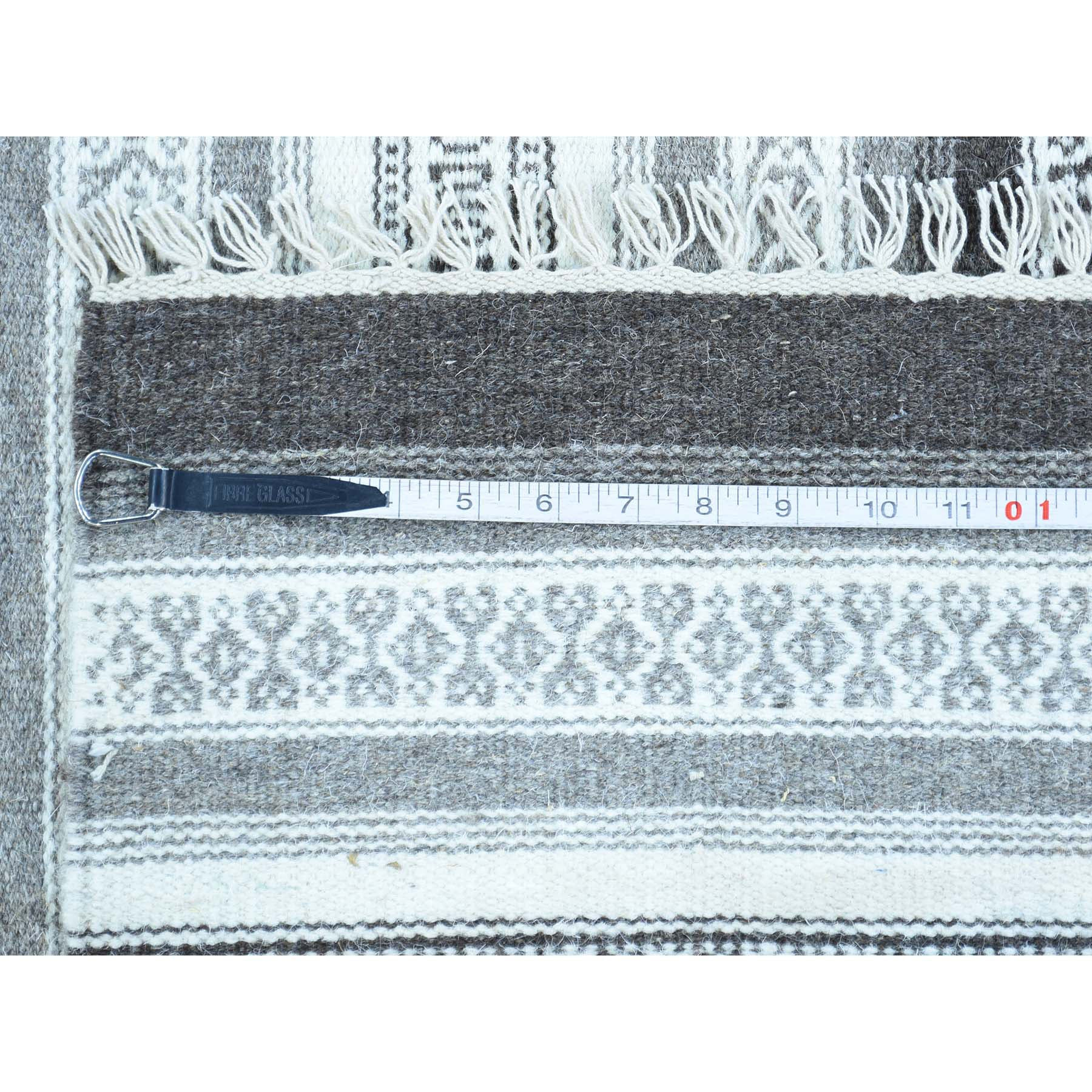 "Handmade Flat Weave Rectangle Rug > Design# SH31869 > Size: 3'-0"" x 5'-1"" [ONLINE ONLY]"