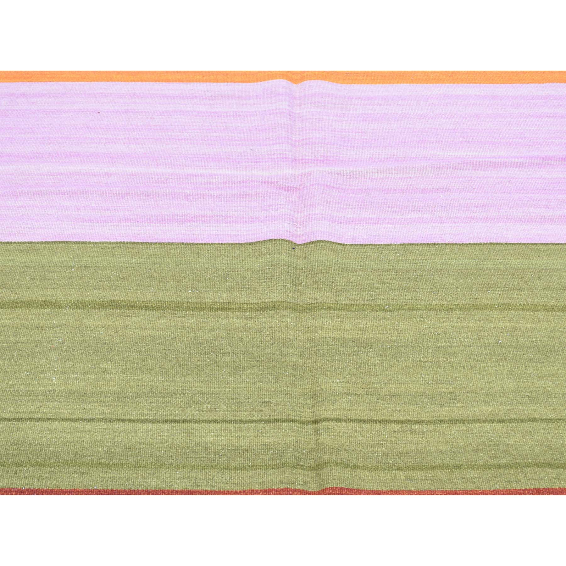 "Handmade Flat Weave Rectangle Rug > Design# SH31896 > Size: 10'-0"" x 14'-8"" [ONLINE ONLY]"